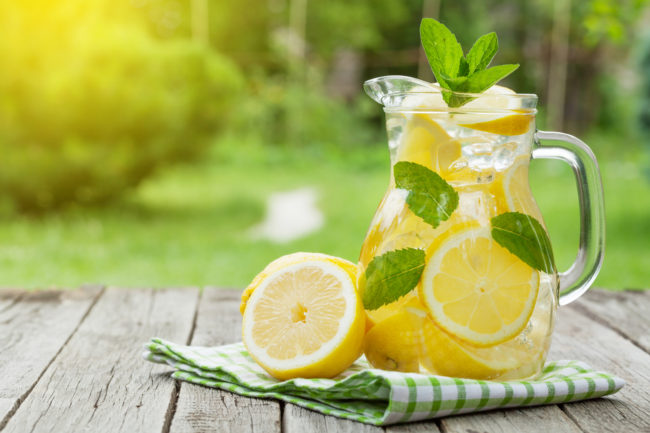 Benefits Lemon Water