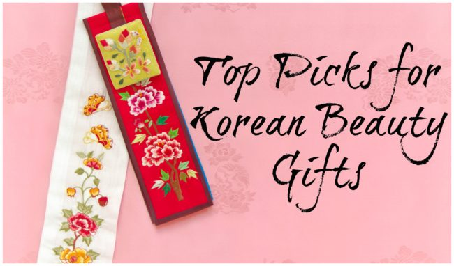 Top 10 picks Korean Beauty Gifts
