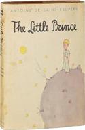 The Little Prince by Antoine de Saint Exupery - $14,450