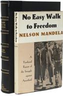 No Easy Walk To Freedom by Nelson Mandela - $9,500