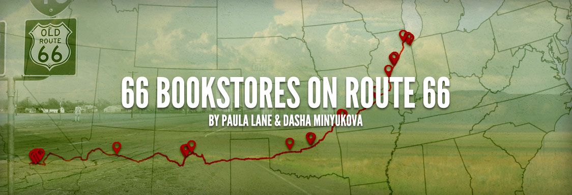 66 Bookstores on Route 66 header image