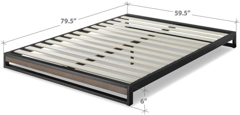 low-profile-bed-measurements