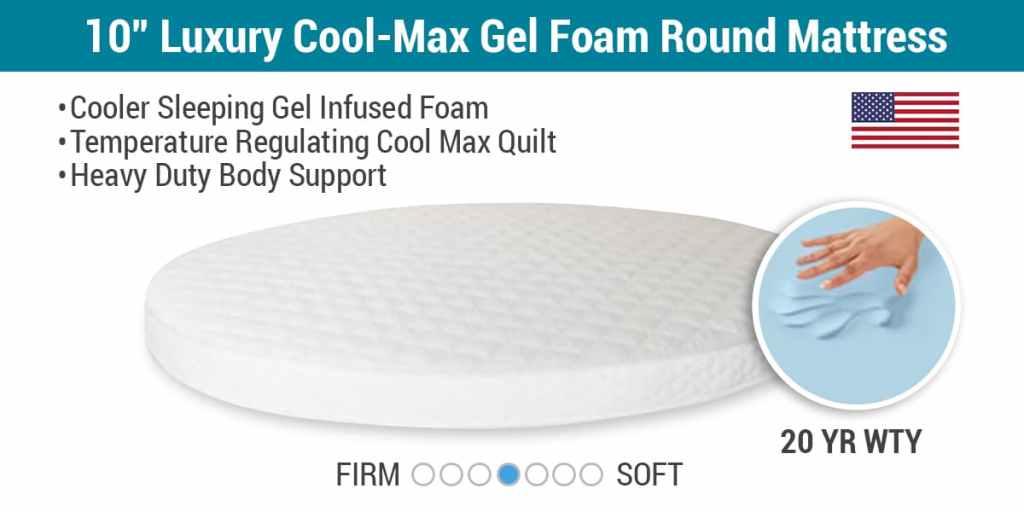 round-mattress-from-mattress-insider