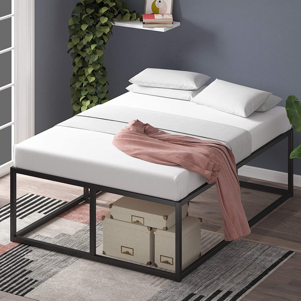tall-bed-frame-with-storage
