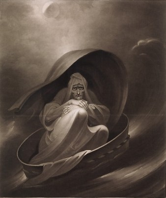 Charles Turner (British, Woodstock, Oxfordshire 1774–1857 London) A Witch Sailing to Aleppo in a Sieve, December 1, 1807 British, Mezzotint; Plate: 24 × 18 in. (61 × 45.7 cm) Sheet: 24 3/4 × 21 3/8 in. (62.9 × 54.3 cm) The Metropolitan Museum of Art, New York, The Elisha Whittelsey Collection, The Elisha Whittelsey Fund, 1967 (67.797.44) http://www.metmuseum.org/Collections/search-the-collections/654259