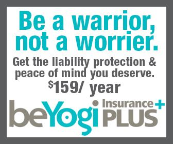 Be a warrior not a worrier. Get the liability protection & peace of mind you deserve. $159/year BeYogi Insurance