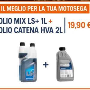 PROMO – Olio Mix LS+ 1L + Olio Catena HVA 2L