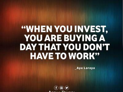 Investing Is Buying A Day Without Work