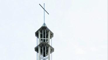 Kirchturm wird wie neu