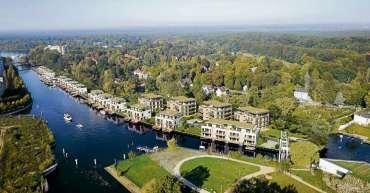Luxuriöses Zuhause auf dem Wasser