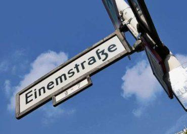 Einemstraße wird umbenannt