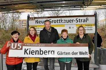 Eine Station fürs Grüne