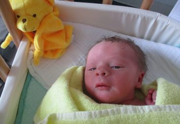 Pankower Neujahrs-Baby