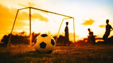 Flüchtlingshilfe mit Fußballtraining