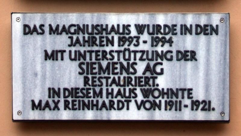 Siemens darf nicht ins  Magnus-Haus ziehen