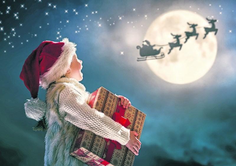 Den Weihnachtsmann gibt's wirklich