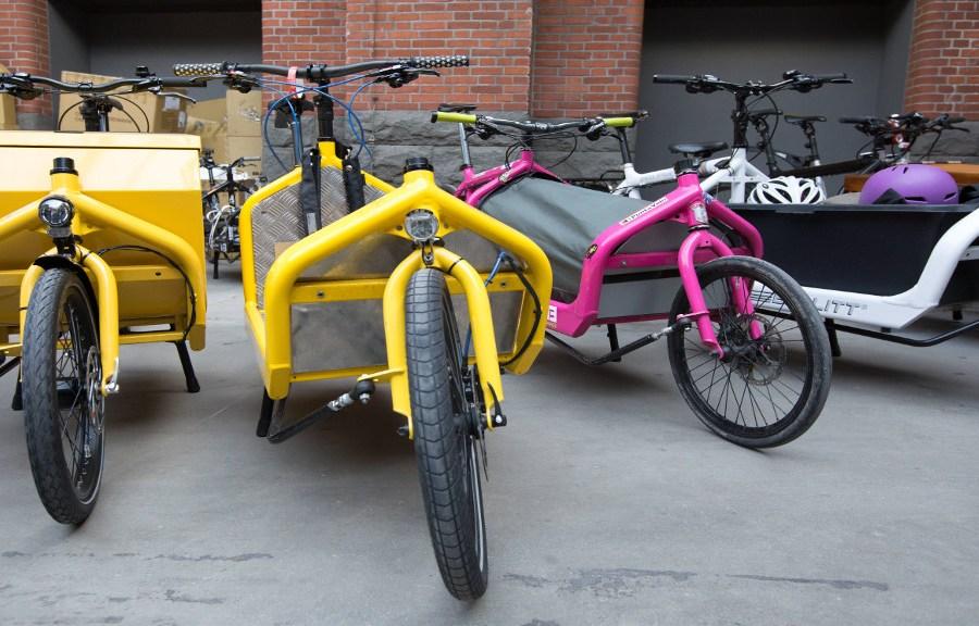 Lastenfahrräder für Mitte