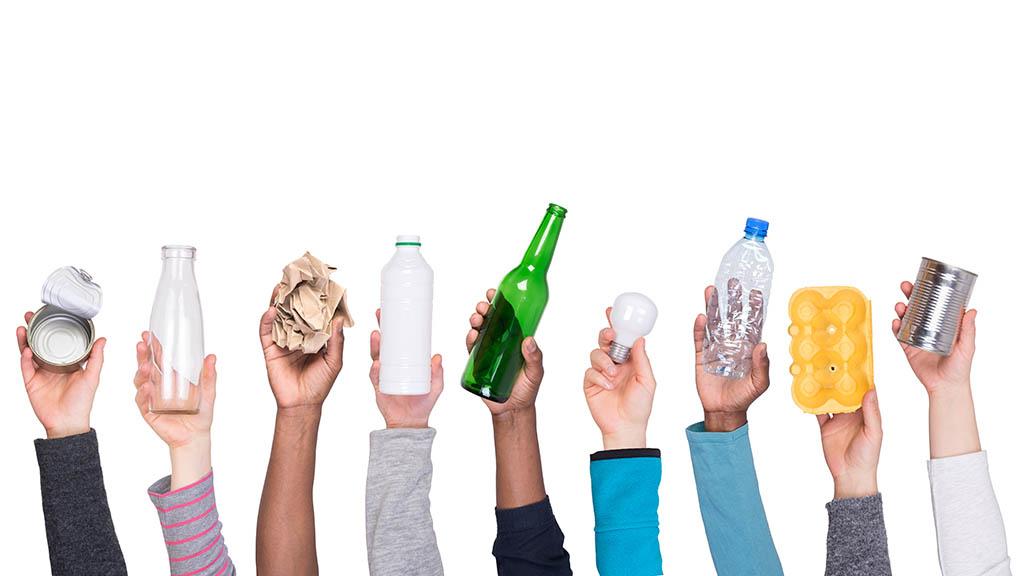 Die Welt von Müll befreien