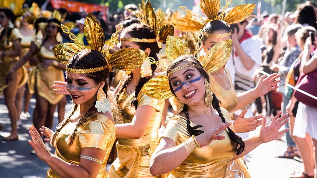 Berlin-Kreuzberg feiert: Karneval der Kulturen