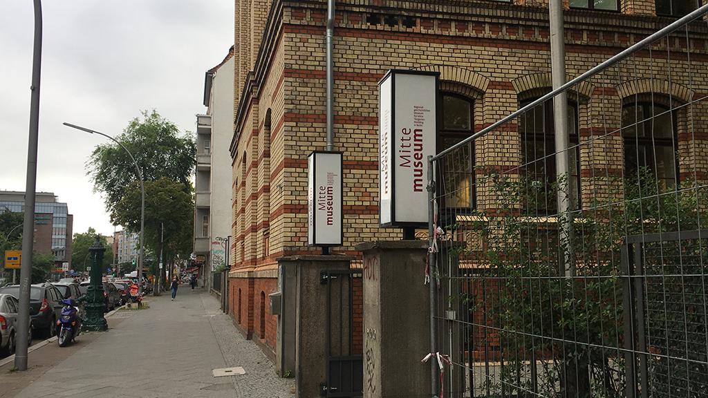 Mitte Museum feiert Umzug an den alten Standort