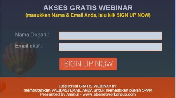 Webinar atawa Seminar Online