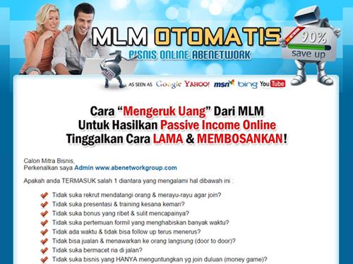 Web Replika MLM Otomatis