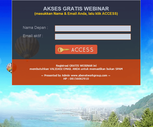 Register WEBINAR - Abenetwork Group