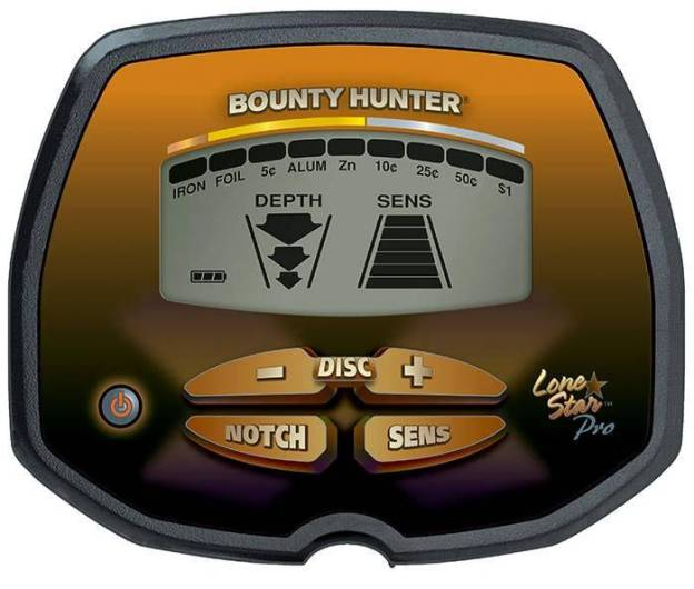 Bounty Hunter Lone Star Pro Elektronikbox