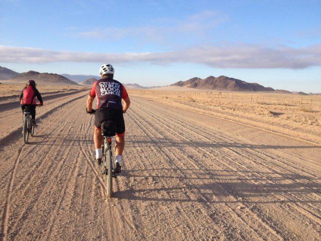 Wüste Mountainbike