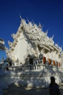 Weißer Tempel, Wat Rong Khun, Thailand, Chiang Rai