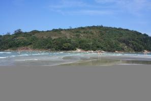 Rechte Seite der Praia do Pernambuco