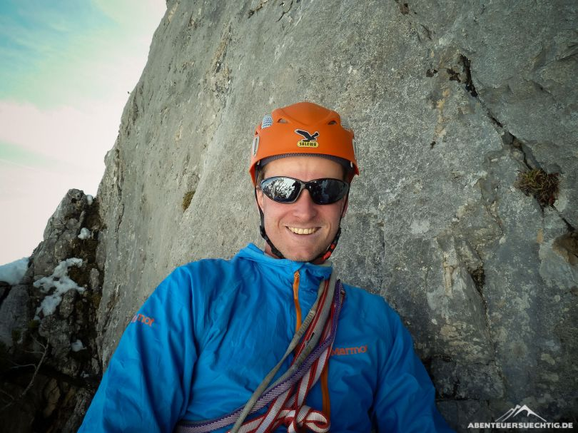 Alpines Sportklettern macht Spaß!