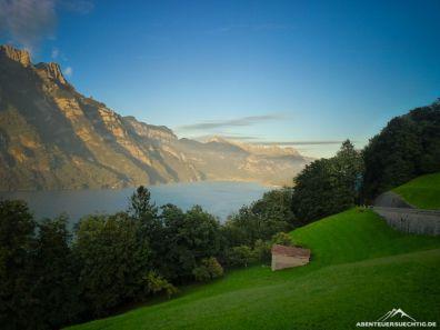 Schön ist es in der Schweiz, hier am Walensee