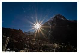 Steinmännchen und Sonne