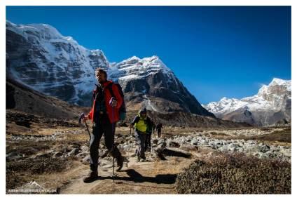 Trekking nach Khare
