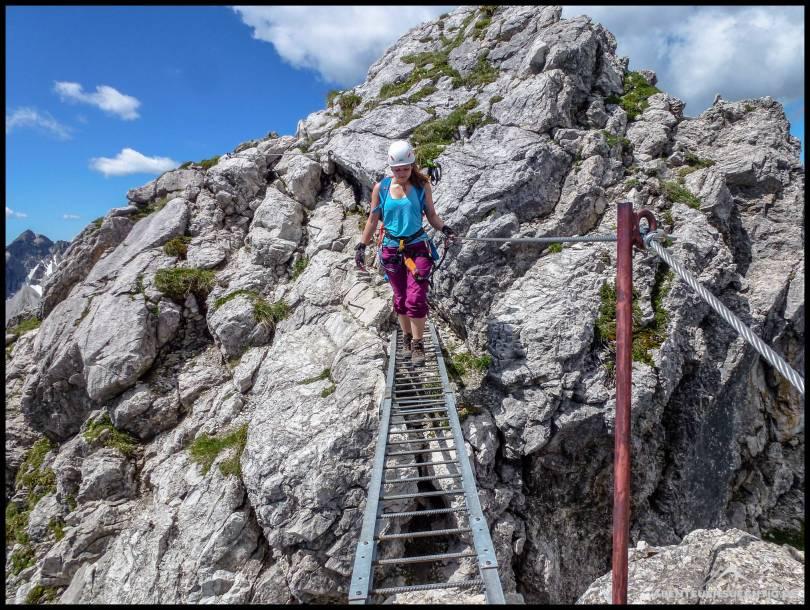 Die Leiterbrücke mit Tiefblick
