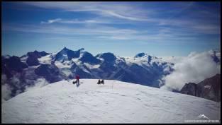 Blick auf die Walliser Prominenz