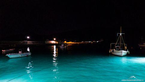 Der Hafen von Leonidio.