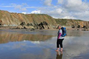 Alex wandert in Pembrokeshire