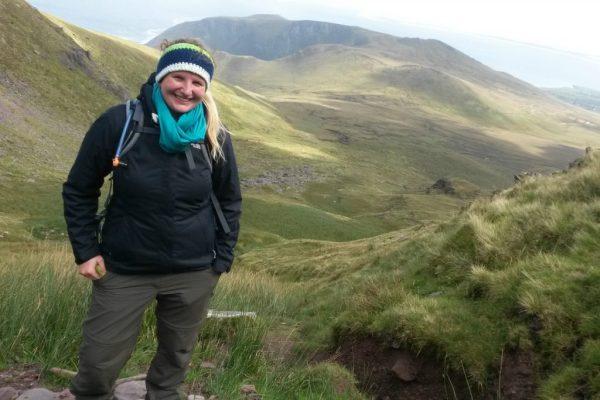 Abstieg Mount Brandon - Dingle Way