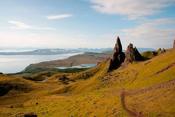 The Storr auf der Isle of Skye, Schottland