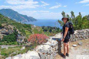 Wandern an der Amalfikueste und der Sorrentohalbinsel