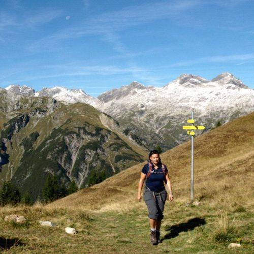 Alpenüberquerung individuell mit Komfort von Oberstdorf ins Meraner Land