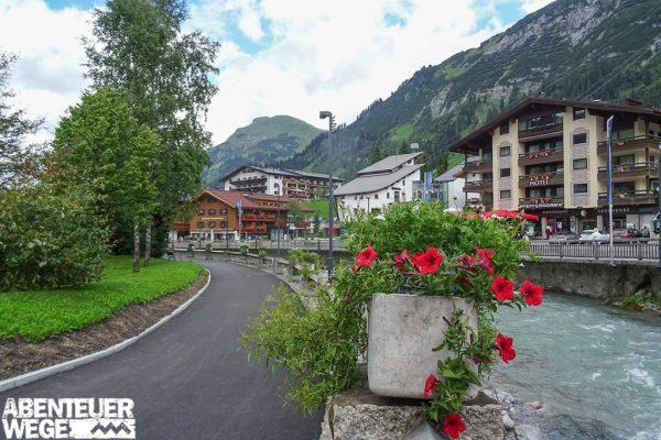 Unterkünfte und Dörfer am Lech