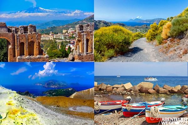 Sizilien und die Liparischen Inseln - Vulkanwelten & Dolce Vita