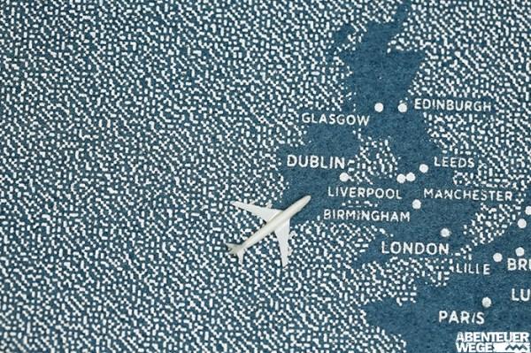 Anreise zum Wandern auf den Britischen Inseln