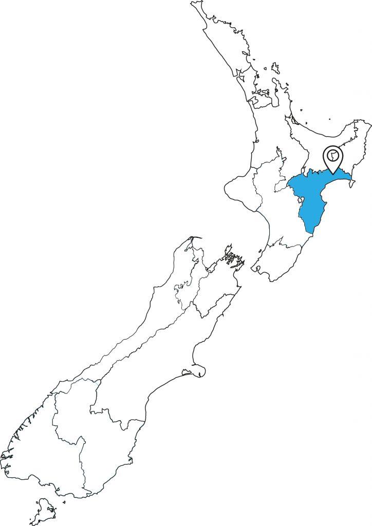 Lake-Waikaremoana_Great Walk Karte