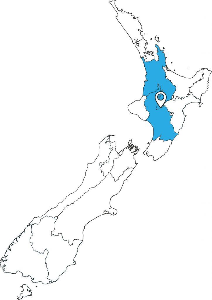 Neuseeland Karte_Tongariro-Circuit