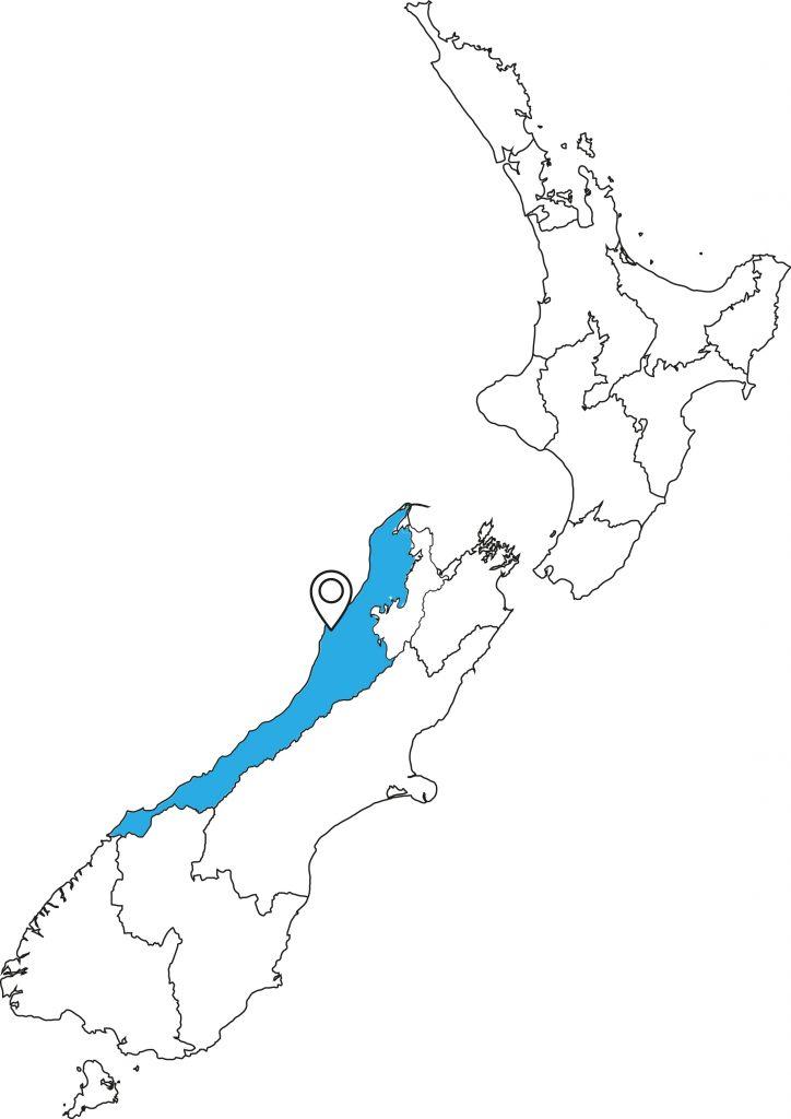 Paparoa-Track-Karte