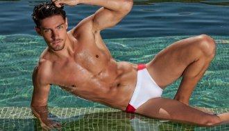 a história das sungas de praia e roupas de banho masculinas